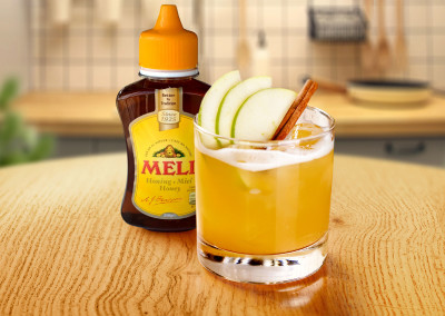 Appel-kaneel mocktail