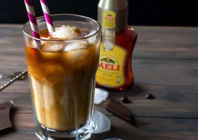 Ijskoffie met honing & vanille