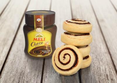 Chocoladekoekjes met Meli Choco