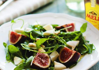 Salade met vijgen en pecorino